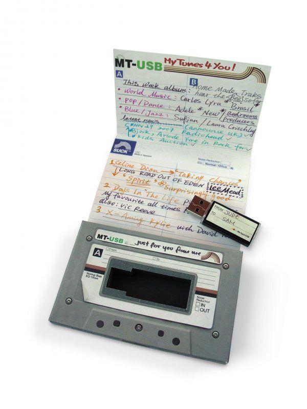 Cassette tape mix tape love songs USB