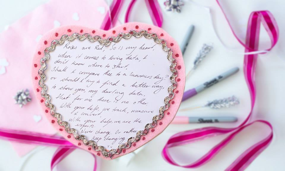 Loves Data valentines poems crafternoon