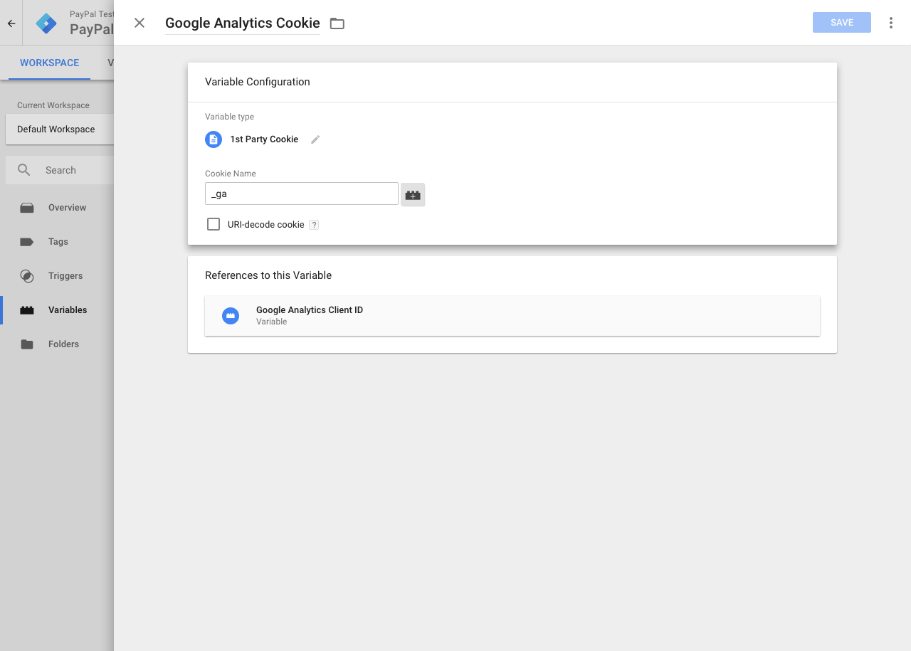 Tracking PayPal with Google Analytics