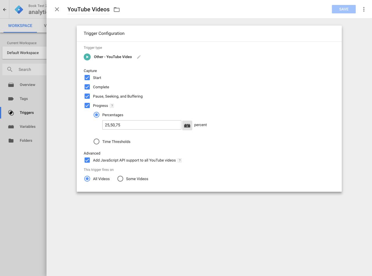 Tracking YouTube