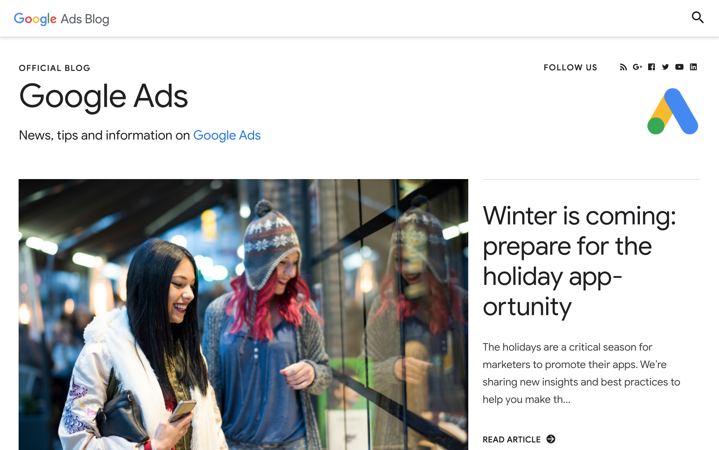 Learn Google Ads