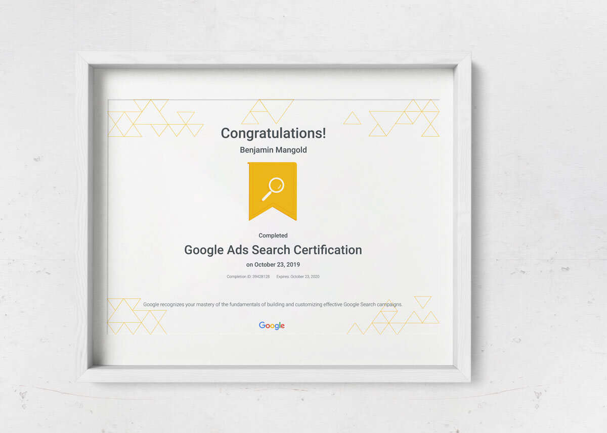 Google Ads Certification How To Become Certified Loves Data