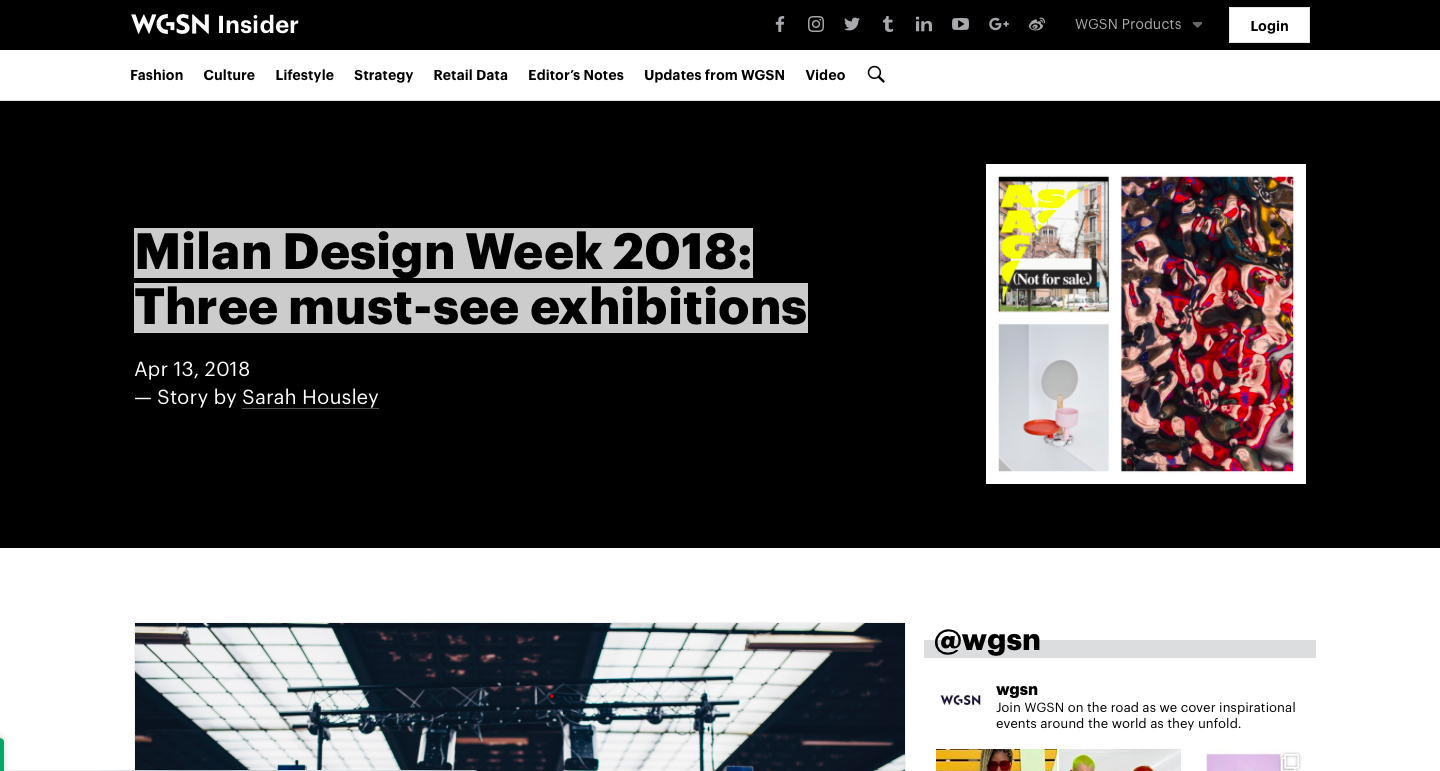 Top 5 Best Free Trend Forecasting - WGSN