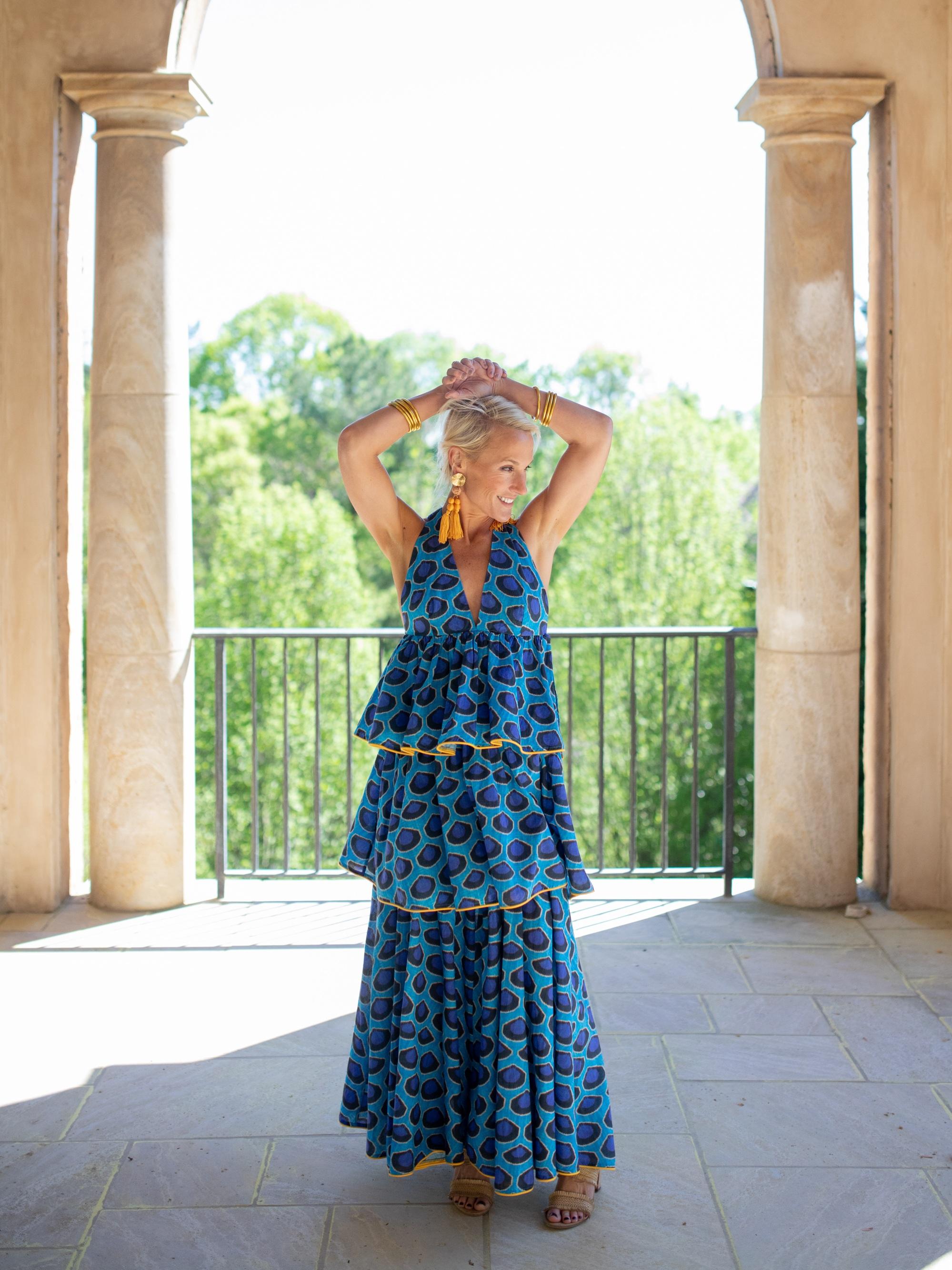 Wearing Leela Dress by Rhode Resort