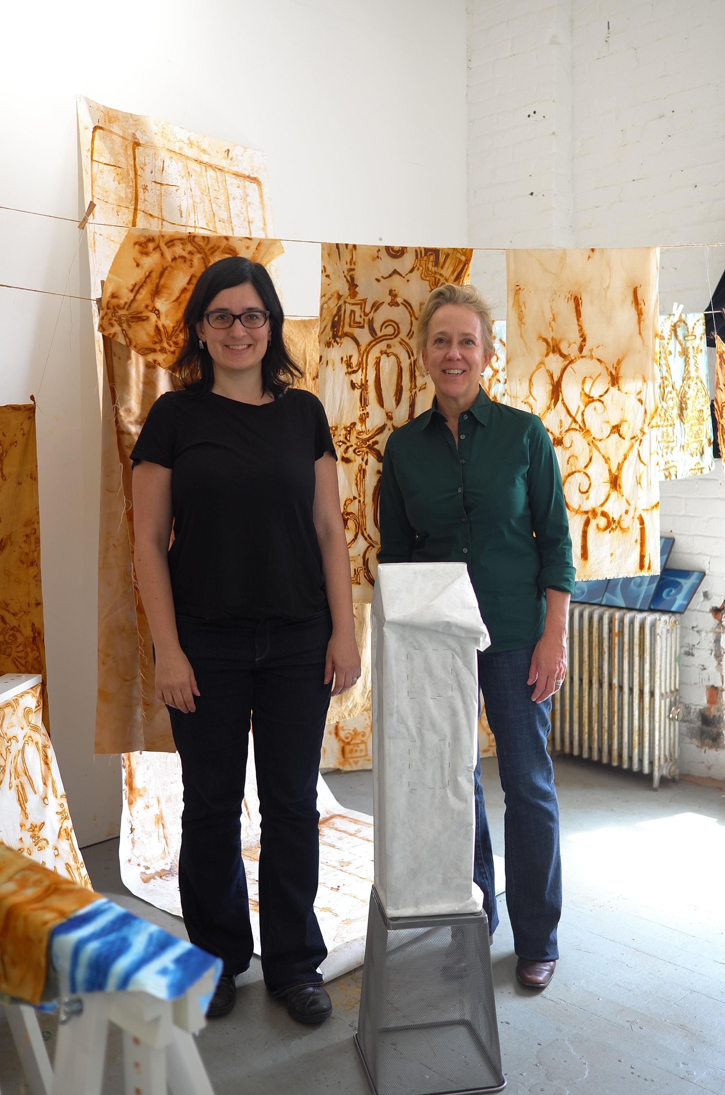 Studio Visit with lisa Banner, May 2017
