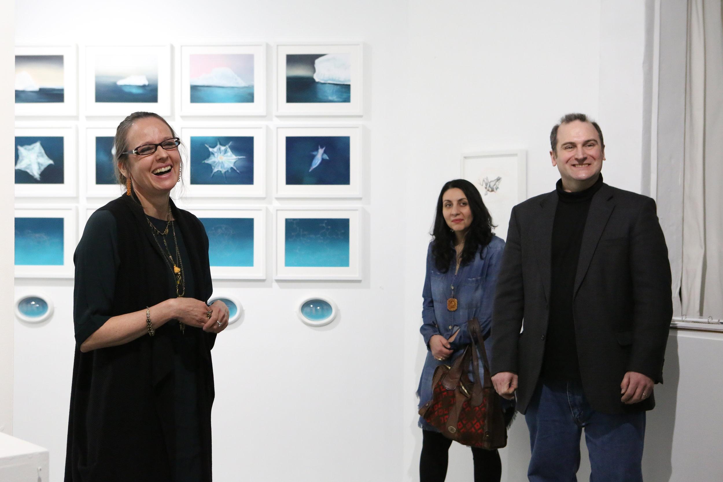 Unravel, Artist Talk
