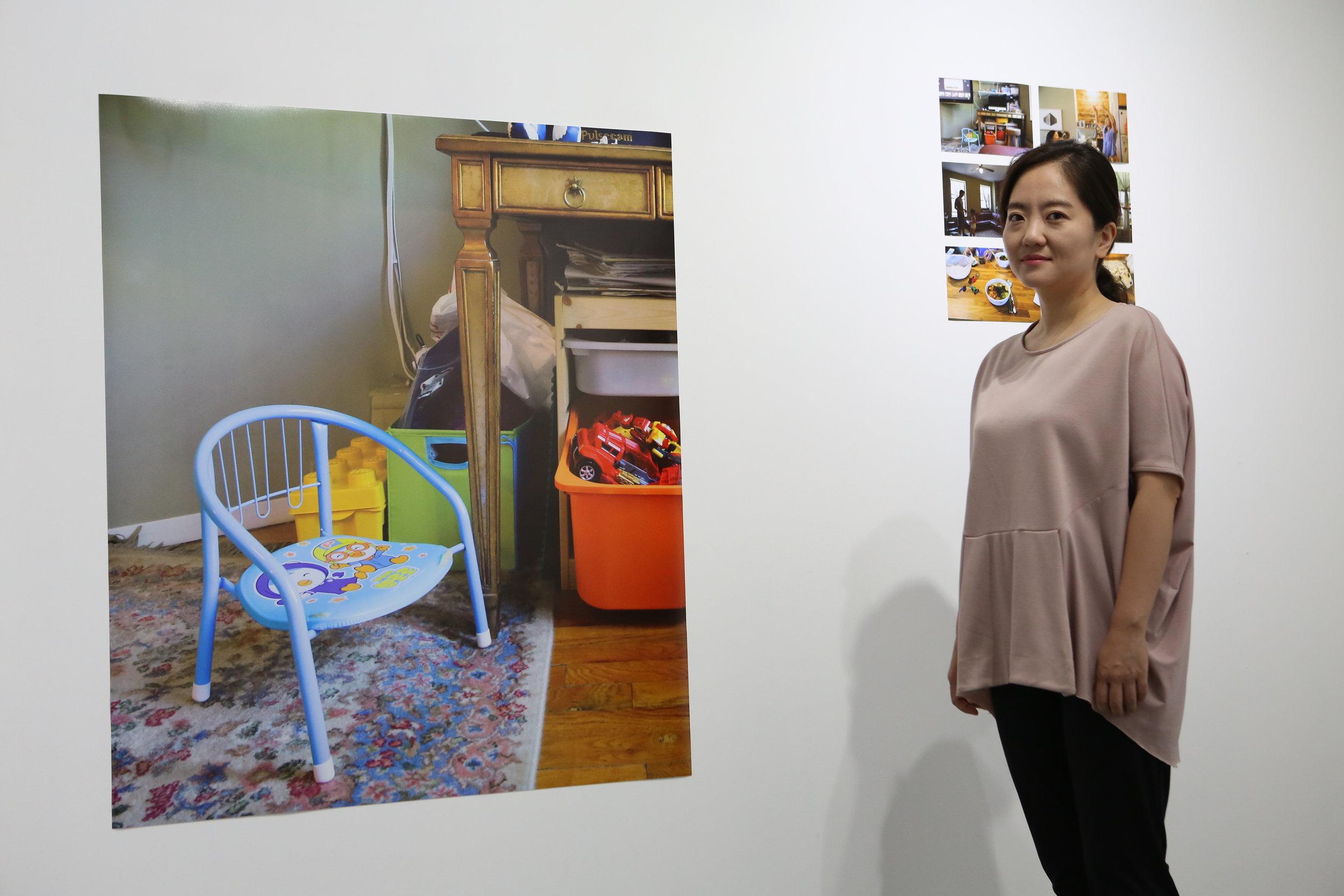2017 residency program artist, Yujung Chang