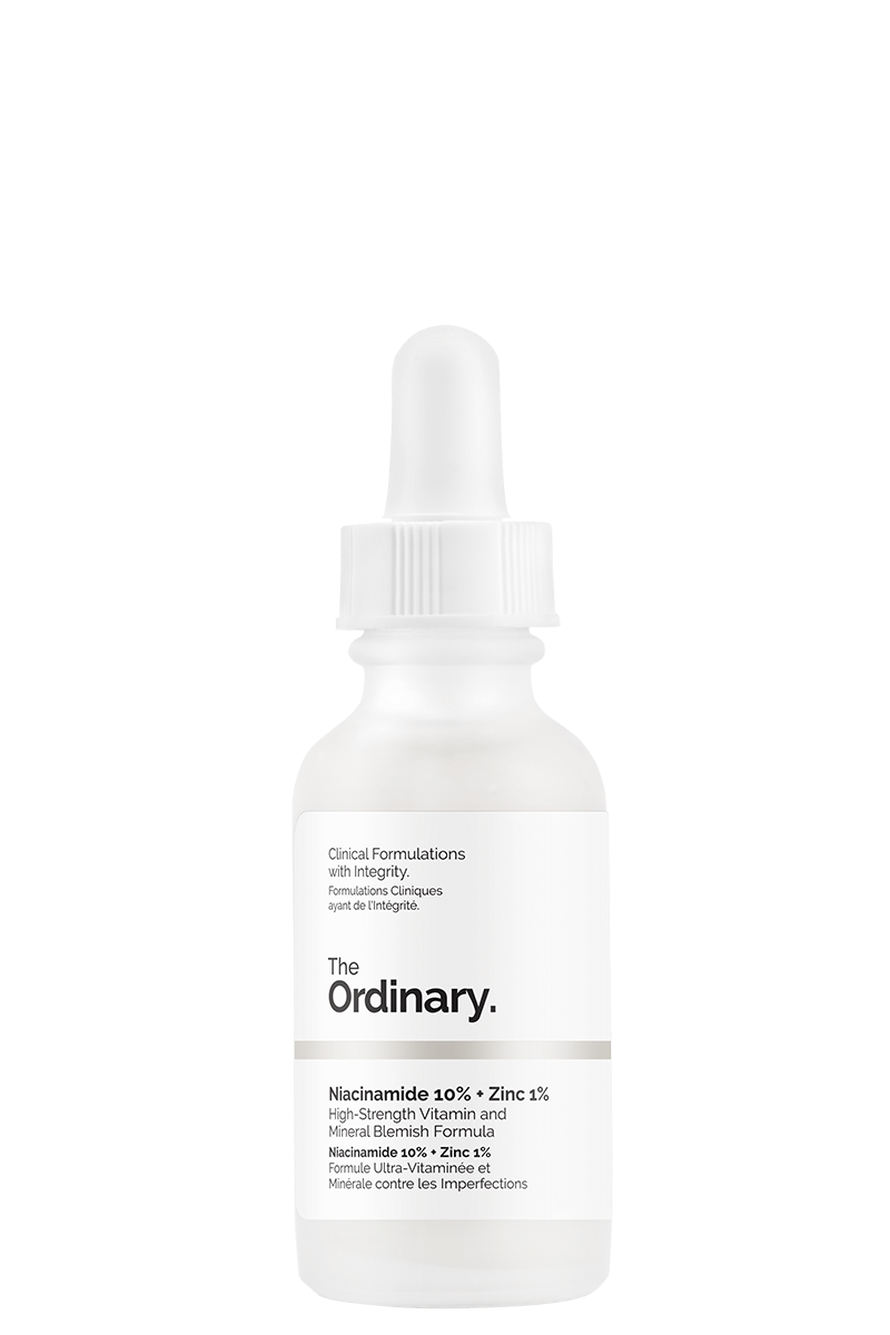 Niacimide - This helps with blemishes & discoloration - I use this at night after my retinol (prescription)
