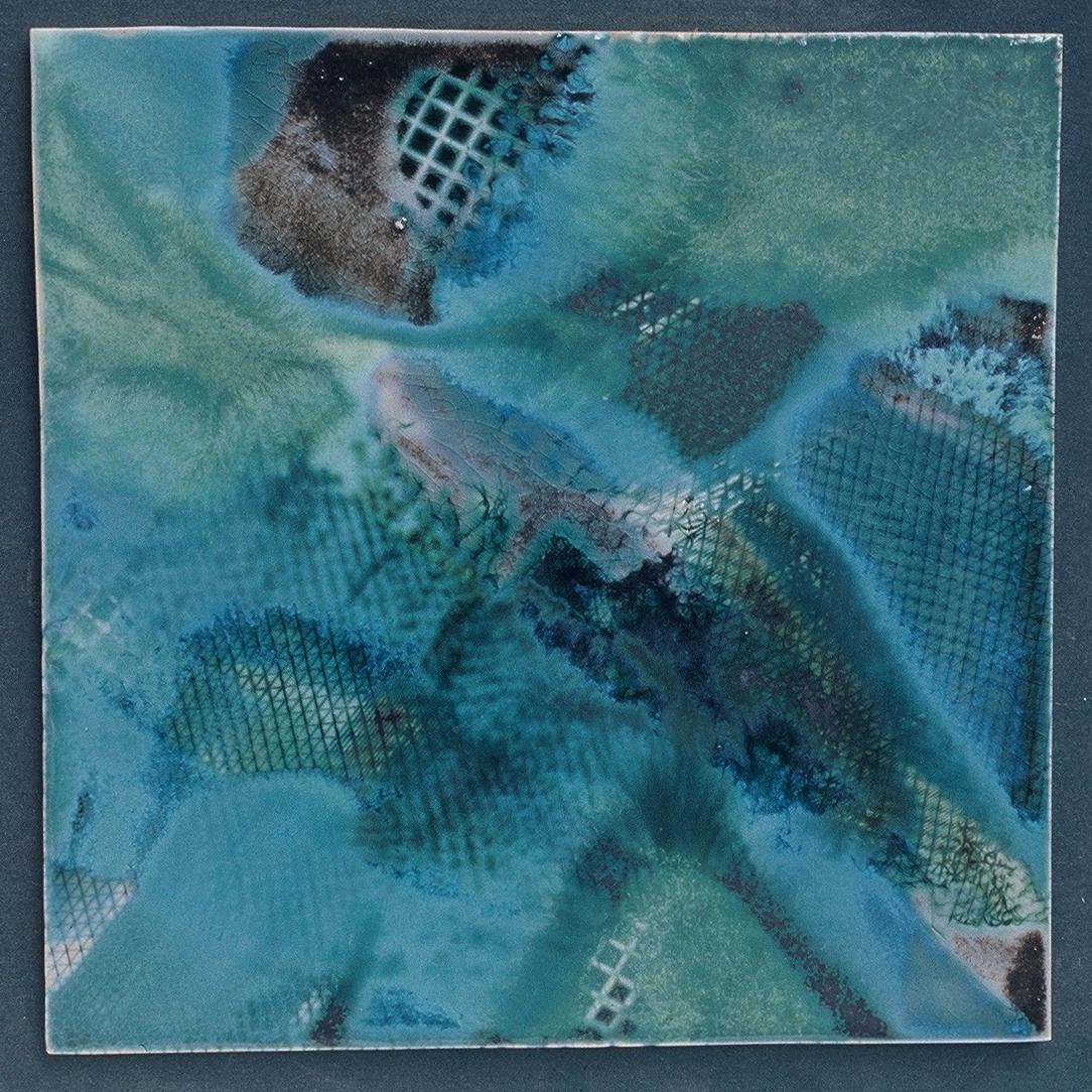 Les Bleus de la Mer  I      16 x 16 in.