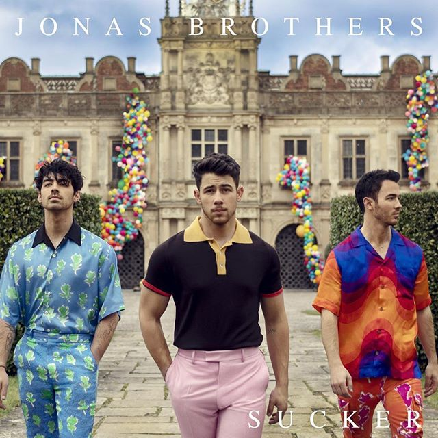 """TRACK REVIEW: Jonas Brothers - 'Sucker' (link in bio for full review) - - - - - - """"The Jonas Brothers have comeback with style and flair with 'Sucker,' the group's first single in over six years."""" - - - - - - #JonasBrothers #NickJonas #KevinJonas #JoeJonas #Pop #PopMusic #Jonas #Sucker #Track #TrackReview #Song #NewSong #MusicVideo #Music #NewMusic #MusicReview #Review #New"""