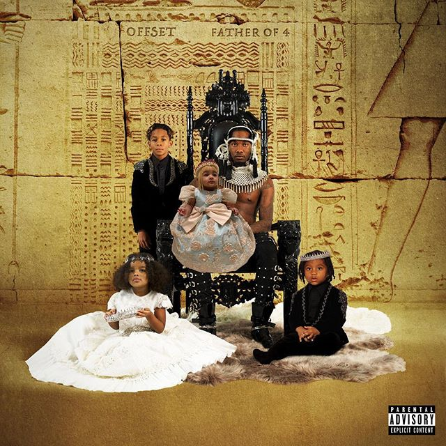 """ALBUM REVIEW: Offset - """"FATHER OF 4"""" (link in bio for the full review) - - - - - - """"Offset delivers some strong tracks on his debut record FATHER OF 4, but still doesn't quite meet the mark."""" - - - - - - #Offset #Migos #HipHop #Trap #TrapRap #FatherOf4 #CardiB #21Savage #TravisScott #JCole  #CeeLoGreen #Music #NewMusic #MusicReview #Review #New"""