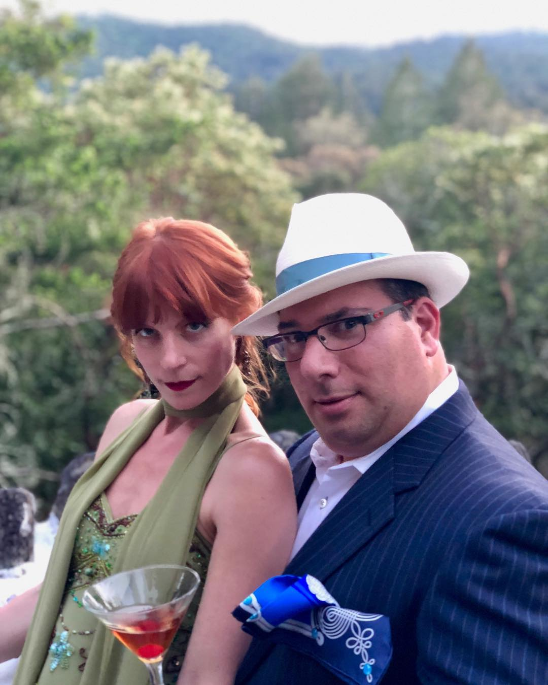 """Maxine"" pictured with ""Sam,"" aka  Transcendence Theatre Company  Board Member and dear friend, Andrew Koenigsberg, at the  Happy Walls House  in  Jack London State Park . I was thrilled to win the Broadway World Award for Best Featured Actress in a Musical in the Bay Area for portraying Maxine in 2016! That drunk."