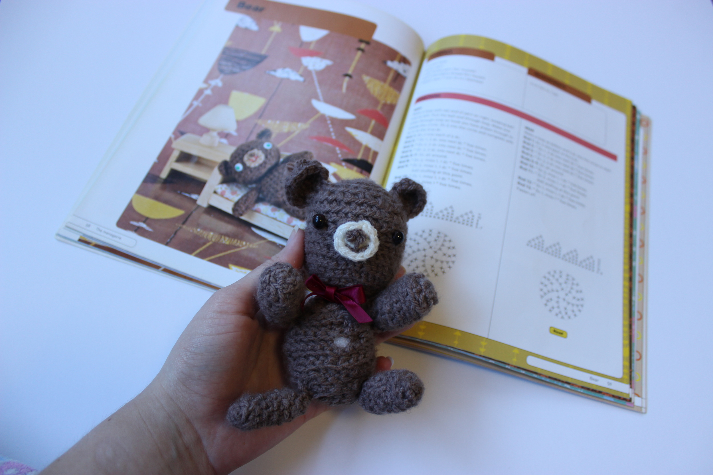 As you can see this pattern book has written instructions as well as diagrams. I am generally a fan of crochet charts, although I'm still unsure how functional it is for amigurumi.