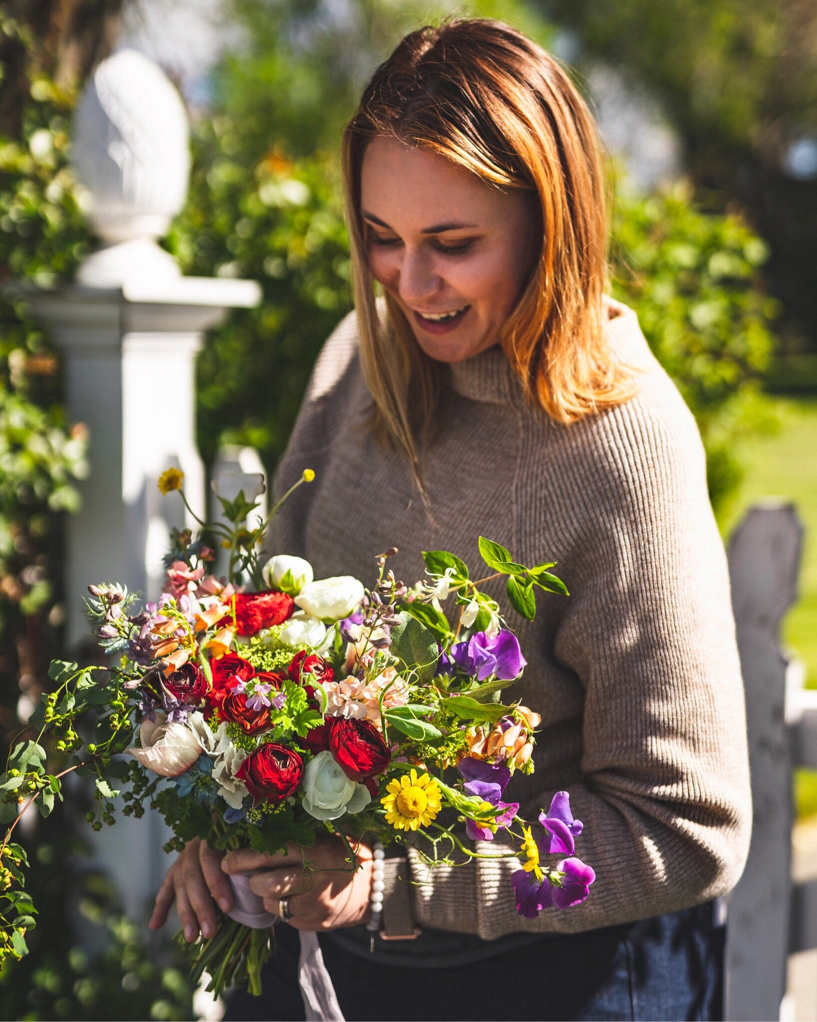 We are looking forward to growing , harvesting and handing wedding blooms to you soon! - Thank you for your consideration of our local flowers for your incredibly special day! - Jessica