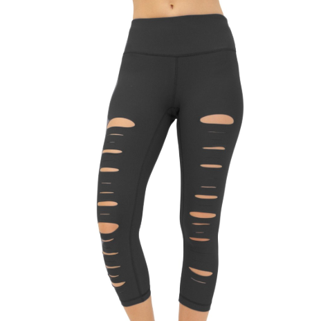 90 Degree by Reflex Front Laser Cut Capri