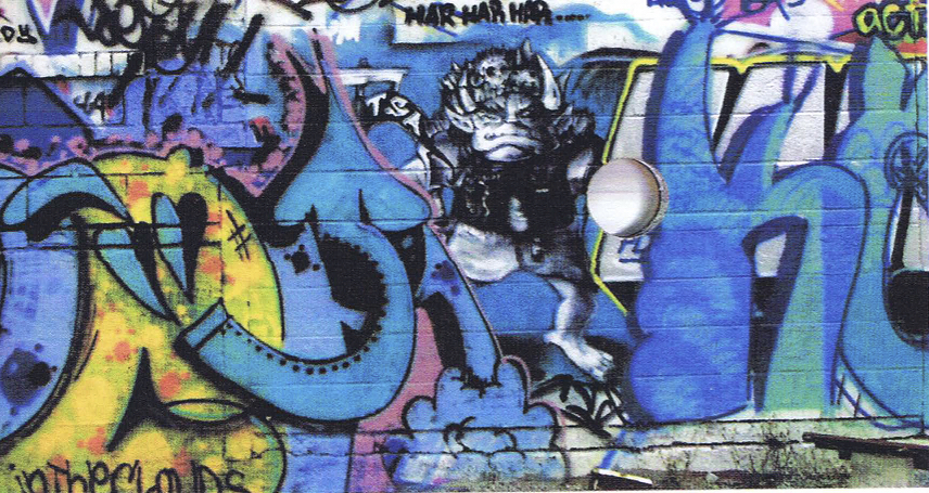 """Cat burglars & hustlers: The graffiti artist's creed"""