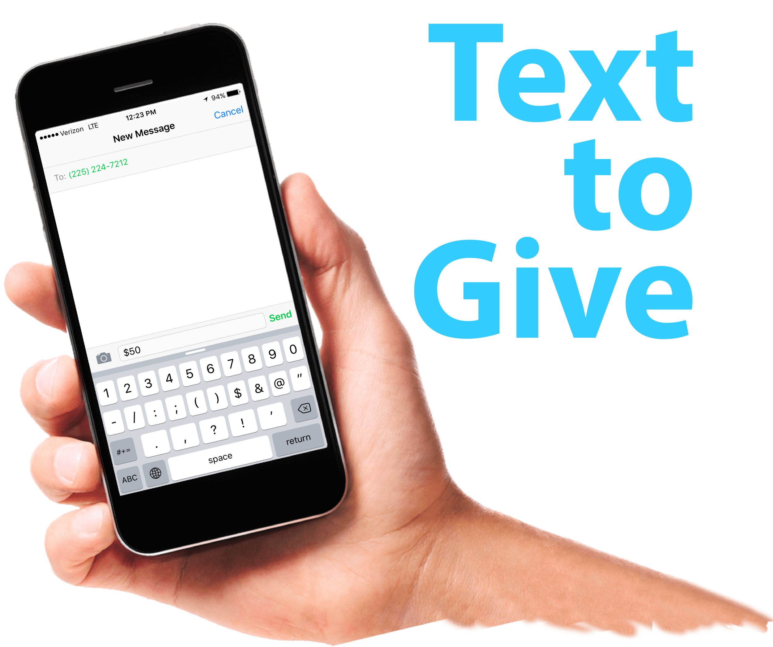Text to Give 1