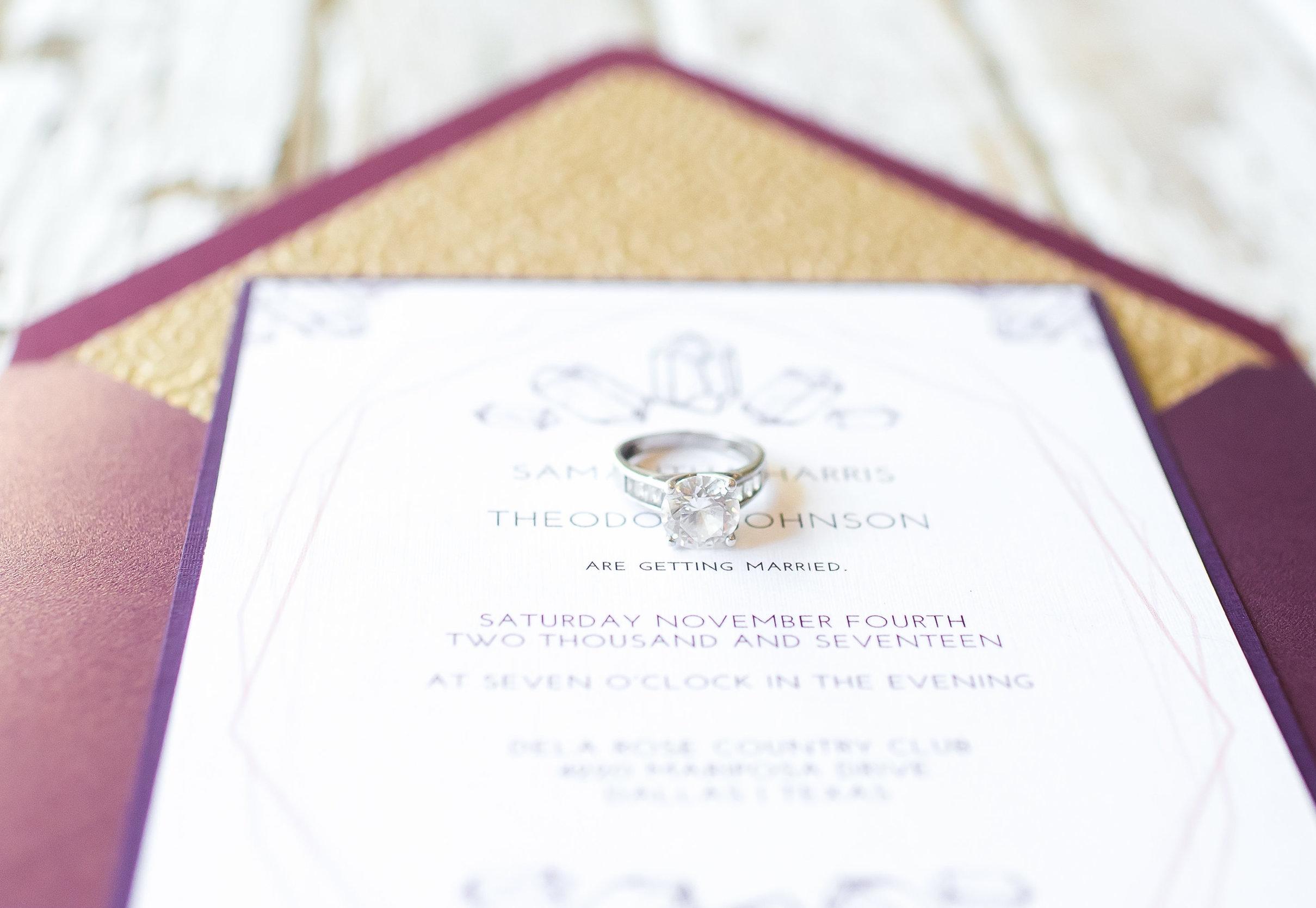 Gemstone Bohemian Wedding Suite | Hands of Hollis | Wedding Stationery Designer | Dallas, TX