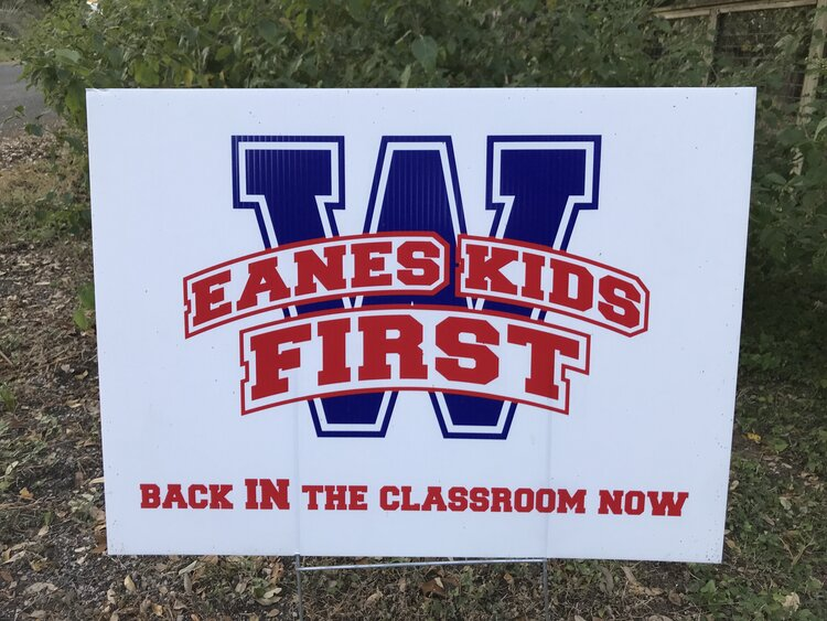 "A misguided, local campaign to get kids ""BACK IN THE CLASSROOM NOW"""