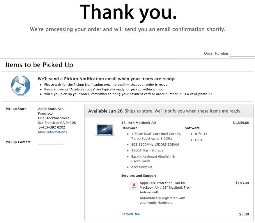 Yas. I can haz new MacBook Air.