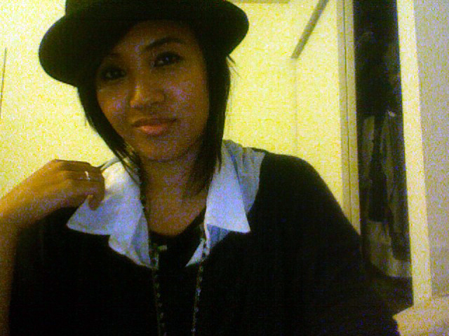 I bought a bowler hat.