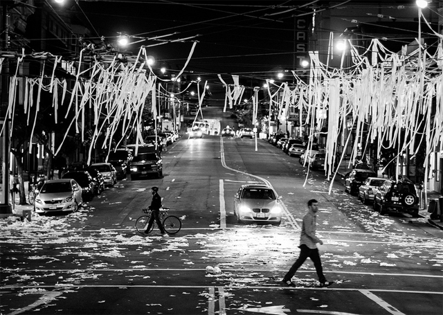 Photo by  Mike Dillon  - The Castro after the Giants won the World Series.     (via  The Castro, Lower Haight Beat the Mission When It Came To World Series Revelry: SFist )