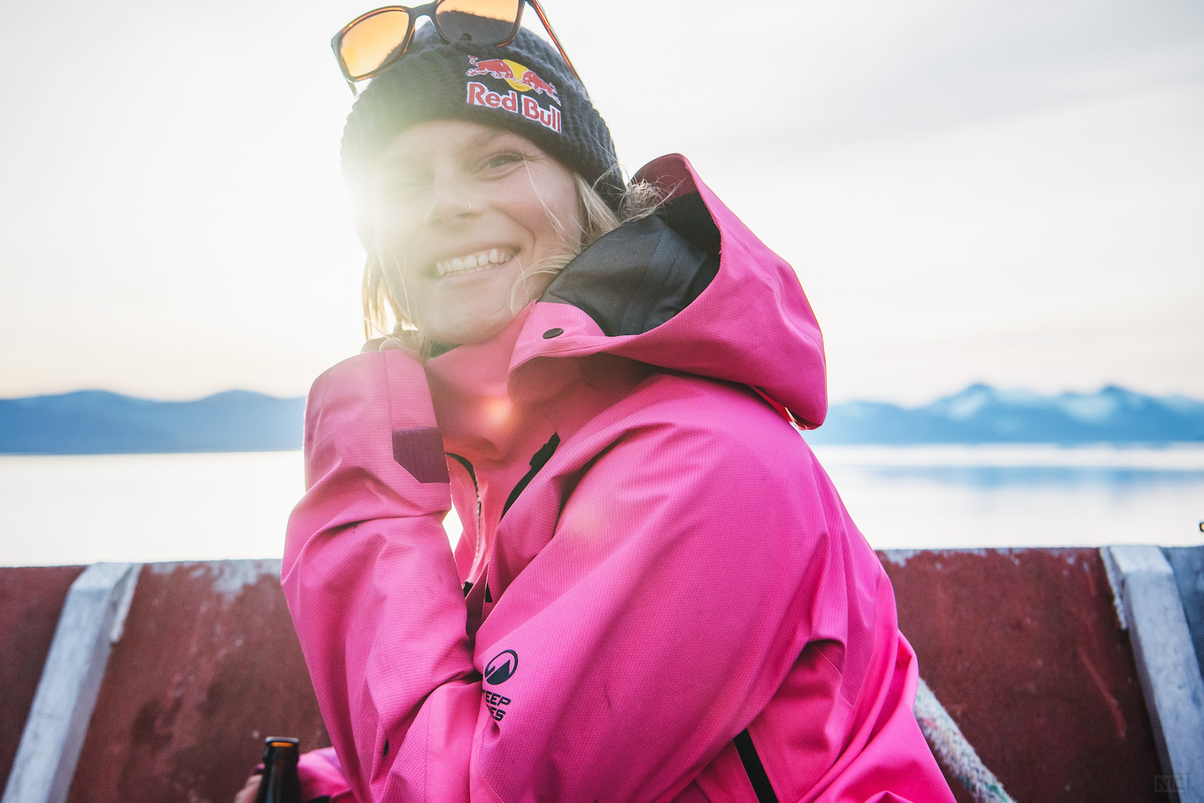 Nic Alegre / Special to Glacier City Gazette The skier-next-door; Angel Collinson at ease in Alaska