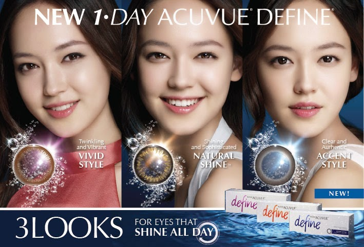 Ask about the newest ACUVUE DEFINE Beauty Lenses - Now available in 5 looks!