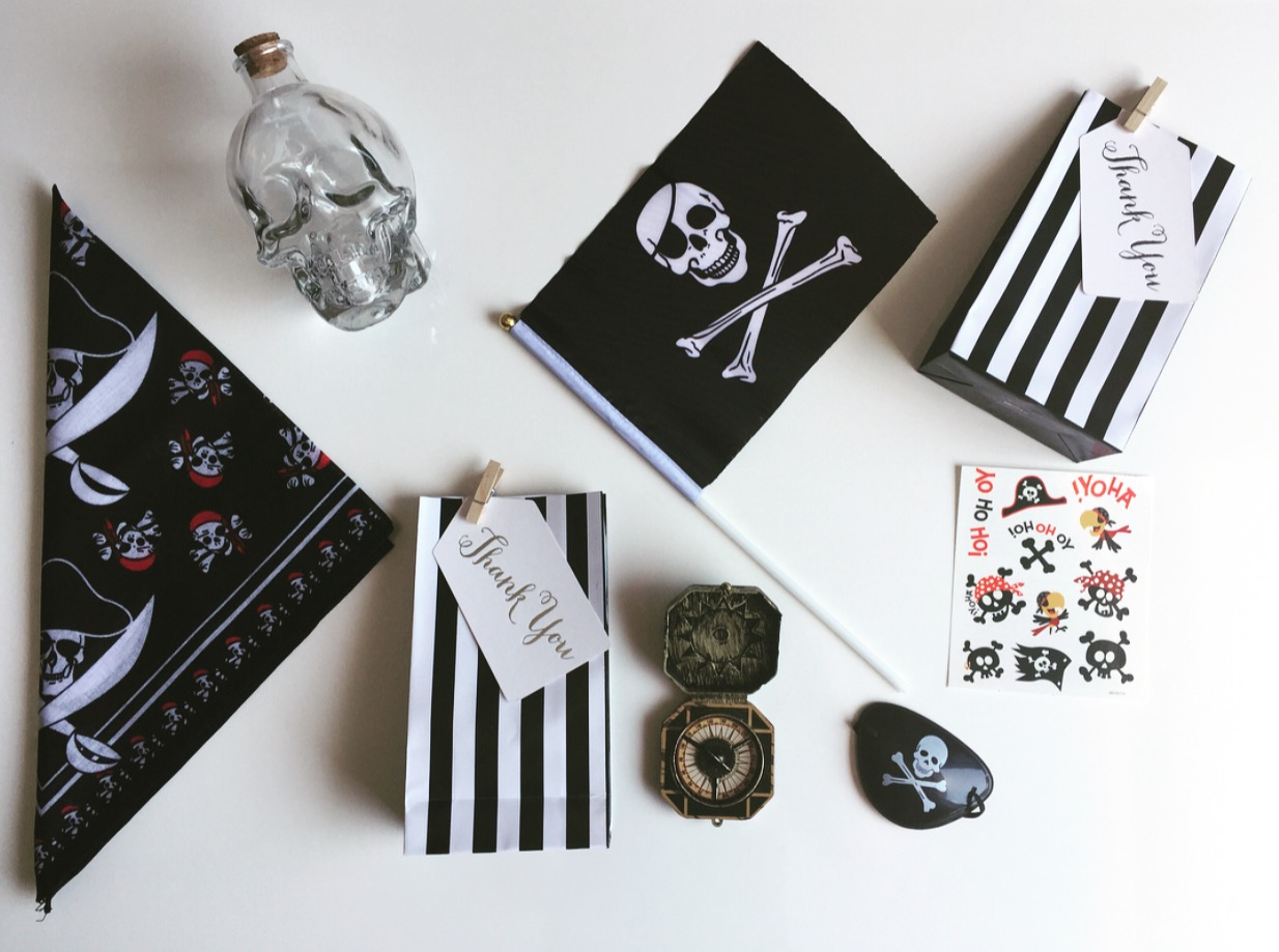 Pirate  Party Treat Bags