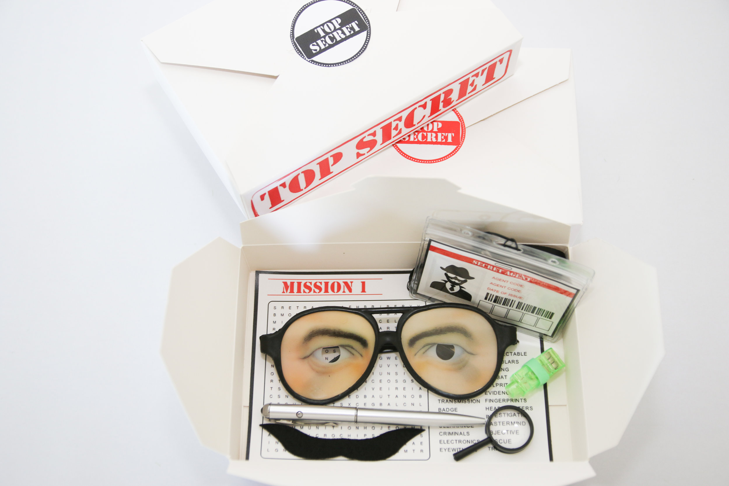Fully Loaded Secret Agent Party Disguise Kit
