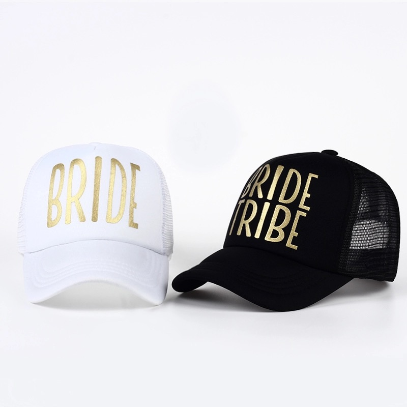 You might also like - Bride and Bride Tribe trucker hats