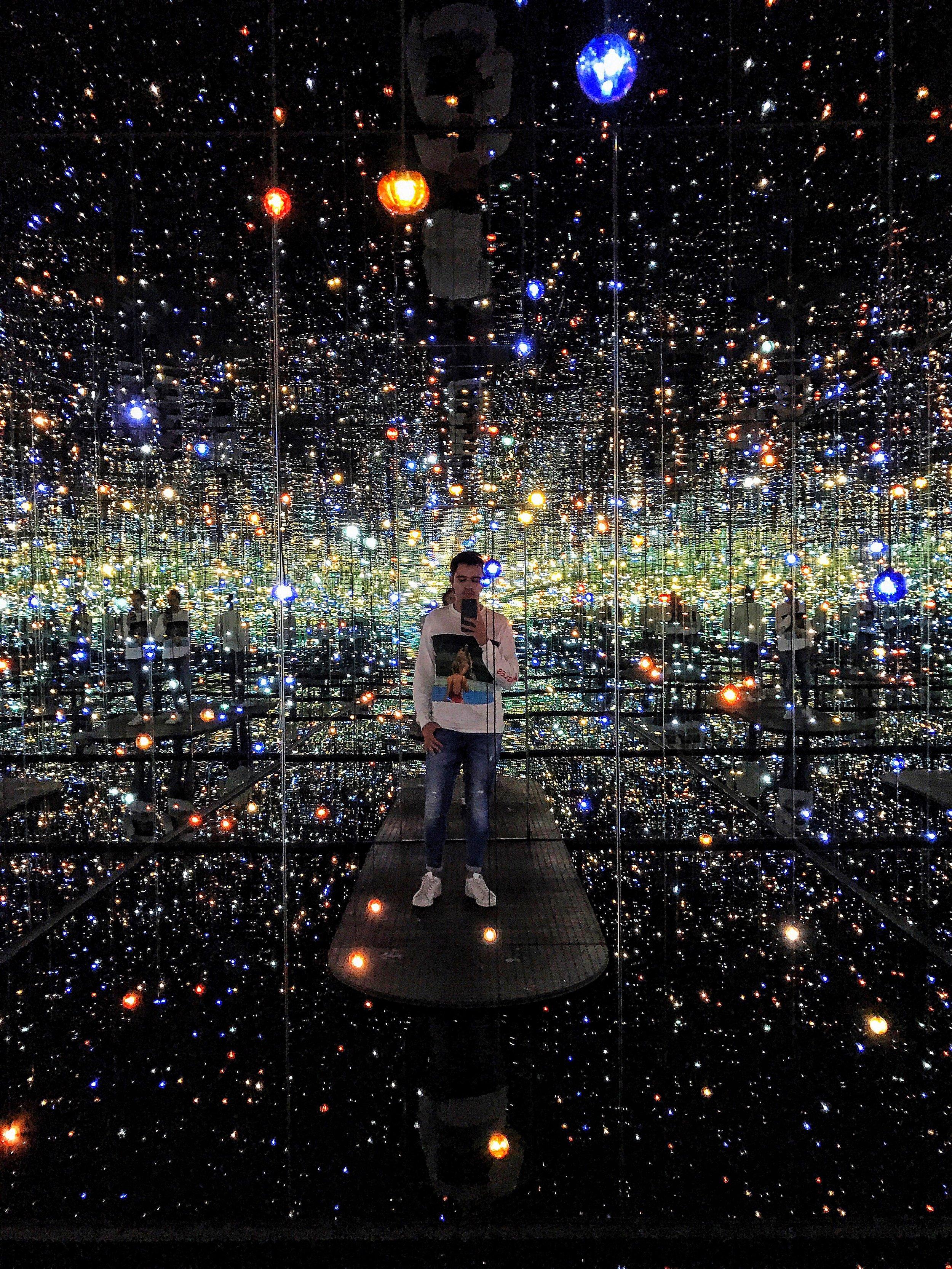 Yayoi Kusama, Infinity Mirrored Room