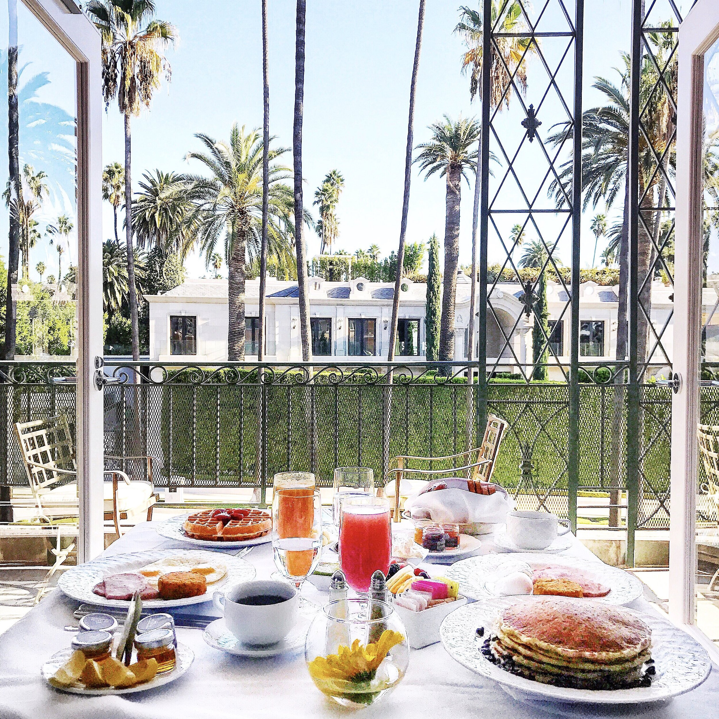 Our breakfast view