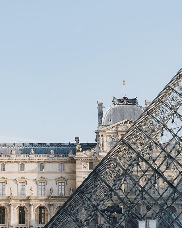 """The first year and a half was really hell. I couldn't walk the streets of Paris without people looking at me as if to say: 'There you go again. What are you doing here? What are you doing to our great Louvre?' ""⠀ ⠀ I. M. Pei on his groundbreaking glass pyramid in front of the Louvre Museum."