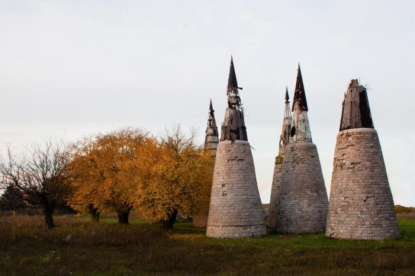 Dudik Memorial Park built in 1980 in Vukovar, Croatia