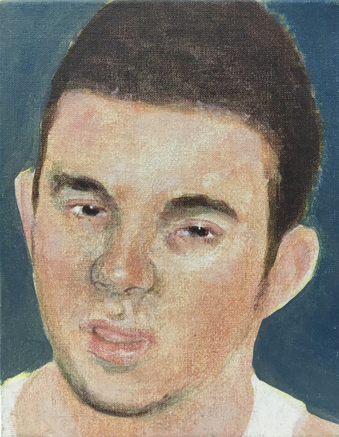 Steve Cox, Study of a Young Man, 2002, oil on canvas