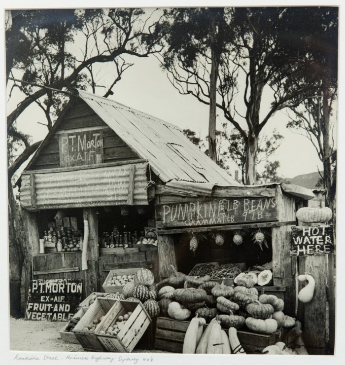 Max Dupain (1911-1992), Roadside Stall Princes Highway, Vintage Silver Gelatin Photograph