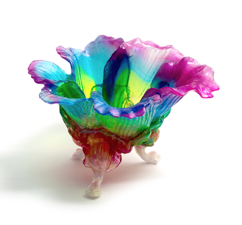 resin sculptural work by Kate Rohde