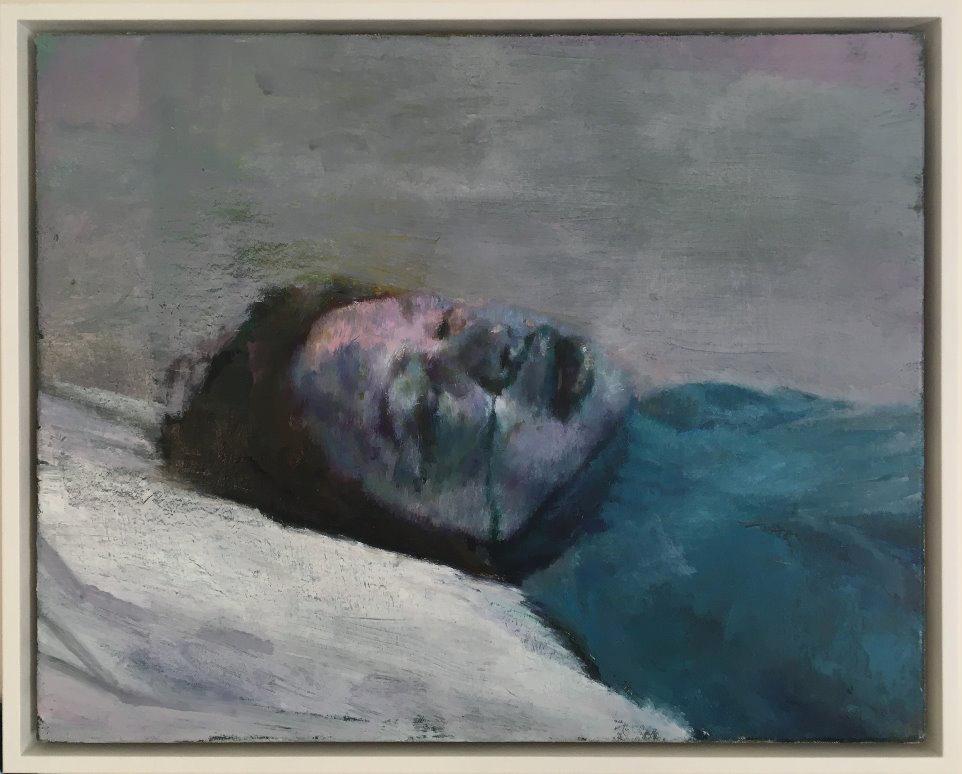 Justin Mortimer, Donor VI, 2014, oil on canvas.