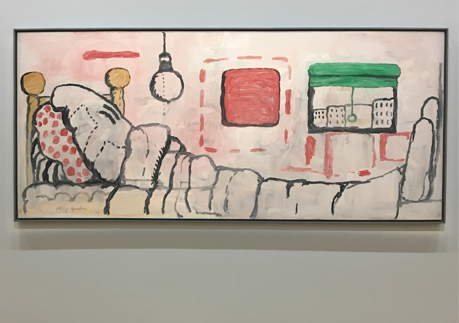Philip Guston, In Bed, 1971, oil on canvas