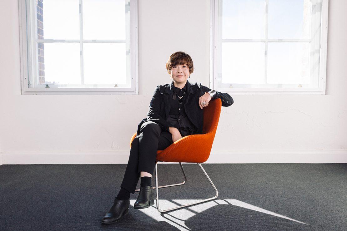 Mami Kataoka, Chief Curator, Biennale of Sydney. Photograph by Daniel Boud.