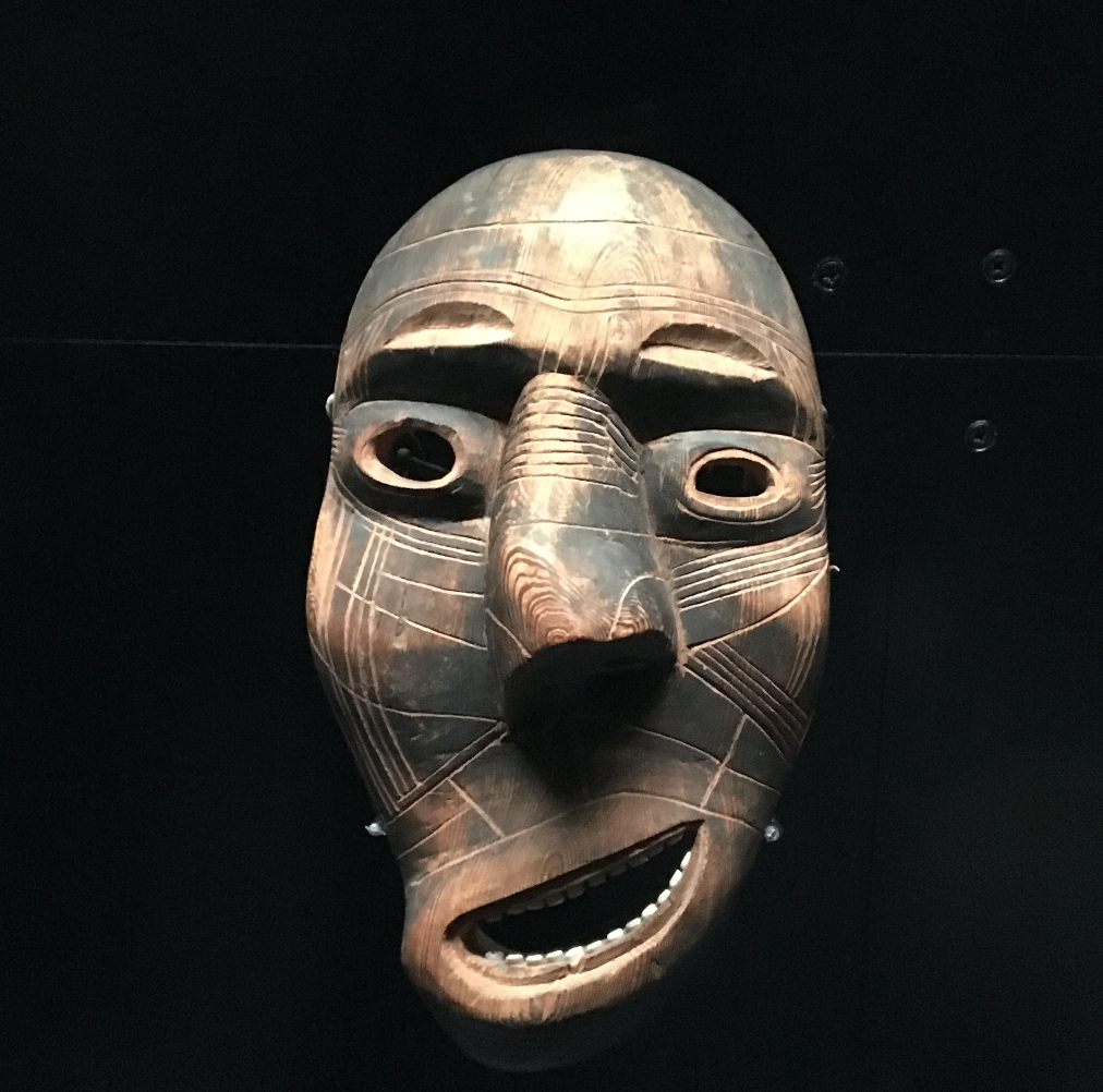 Kiaapaatt masks, collected in 1934 from Greenland