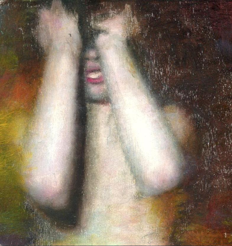 William Reinsch, Shame Study, 2017, oil on canvas.