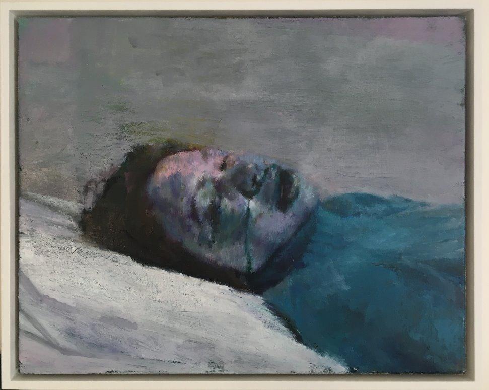 Justin Mortimer, Donor VI, 2014, oil on canvas