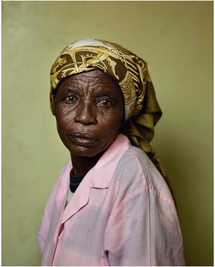 Pieter Hugo,  Mimi Afrika, Wheatland Farm, Graaff Reinet , 2013, From the series  Kin , Digital C-Print