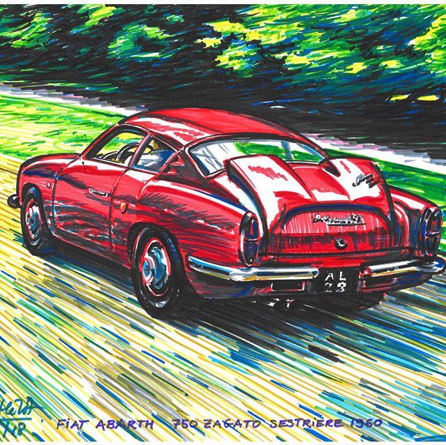 . 자동차 디자인 미술관 _포마 . 포마 아트드로잉컬렉션. Fiat Abarth 750 saga to sestriere 1960  Foma.kr .  #디자인미술관#foma.kr#foma#포마#미술관나들이#미술관산책#미술관그램#미술관데이트#미술관기행#주말여행#주말기행#주말나들이#미술관#자동차디자인미술관#카로체리이전#꼴좋다전#상설전시#추천미술관#미술관투어#고양시#상암동#여름의미술관#아트드로잉#전시#인문학#인문학기행#디자인인문학#출근길#월요일#주말데이트추천#주말기행 #주말여행#주말나들이#