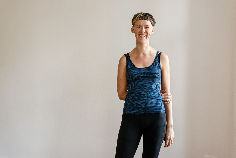 Marieke Horstmann Yoga Lehrerin / teacher Yoga Rebellion Berlin