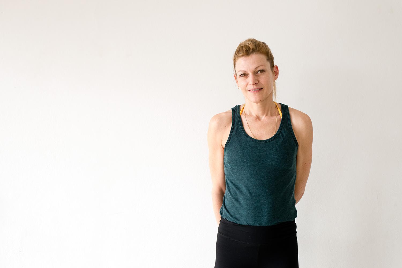 Pascale Schiller Yoga Lehrerin / teacher Yoga Rebellion Berlin