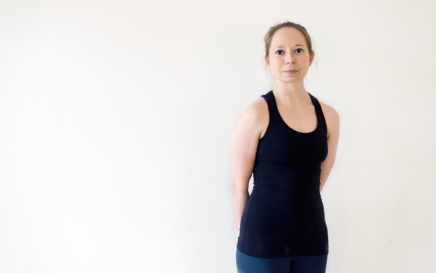 Nina Bettermann Yoga Lehrerin / teacher Yoga Rebellion Berlin
