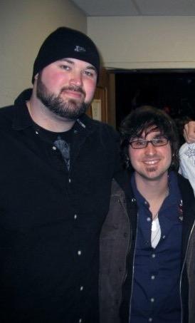 Derek on tour with Sean McConnell